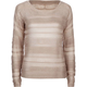 FULL TILT Open Weave Womens Crop Sweater