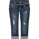 ALMOST FAMOUS 2 Button Womens Crop Jeans