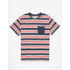 CAPTAIN FIN Bobby Mens Pocket Tee