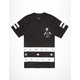 FAMOUS STARS & STRIPES Serious Mens T-Shirt
