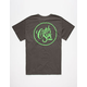 CATCH SURF Circle Script Mens T-Shirt