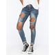 ALMOST FAMOUS Blow Out Womens Skinny Jeans