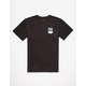 RVCA Badge Mens T-Shirt