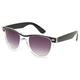 FULL TILT Black Top Clear Sunglasses