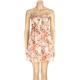 FULL TILT Button Front Floral Dress