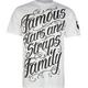 FAMOUS Stars & Straps Script Stack Mens T-Shirt