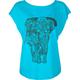 FULL TILT Elephant Womens Tee