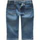 SCISSOR Patch Pocket Girls Denim Capris