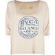 RVCA Stamped Womens Boxy Tee