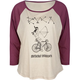 RVCA Indian Spokes Womens Tee