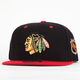 AMERICAN NEEDLE Blackhawks Mens Snapback Hat