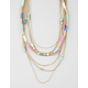 FULL TILT Shell Wrap Swag Necklace
