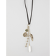 FULL TILT Suede Charm Necklace