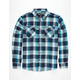 RETROFIT Carolina Mens Flannel Shirt