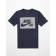 NIKE SB Herringbone Block Boys T-Shirt