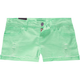 FORMULA Neon Distressed Womens Denim Shorts