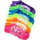 FULL TILT 6 Pack Tie Dye Socks