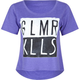 GLAMOUR KILLS Oh Inverted Womens Crop Tee