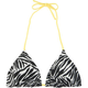 FULL TILT Zebra Womens Swimsuit Top