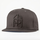 OMIT Black Out New Era Mens Fitted Hat
