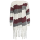 FULL TILT Large Stripe Girls Fringe Wrap