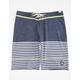 QUIKSILVER East Side Stripe Mens Boardshorts