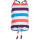 FULL TILT Stripe Girls Tie Front Top