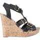 CITY CLASSIFIED Gladiator Cork Womens Shoes