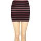 FULL TILT Stripe Body Con Skirt