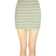 FULL TILT Stripe Body Con Skirt