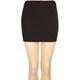 FULL TILT Solid Body Con Skirt