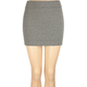FULL TILT Solid Body Con Skirt