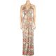 FULL TILT Braid Strap Racerback Floral Dress