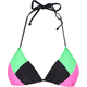 FULL TILT Block Party Bikini Top