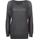 FULL TILT Shaker Stitch Womens Tunic Sweater