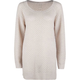 FULL TILT Shaker Stitch Womens Tunic Sweater