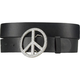 Rhinestone Peace Buckle Belt