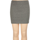 FULL TILT Solid Body Con Girls Skirt