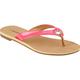 CITY CLASSIFIED Patent Grommet Womens Sandals