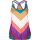 FULL TILT Stripe Basket Weave Womens Tank