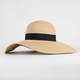 Straw Womens Floppy Hat