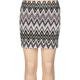FULL TILT Zig Zag Body Con Girls Skirt