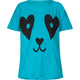 FULL TILT Panda Face Girls Tee