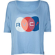 RVCA Tiny Bubbles Womens Crop Tee