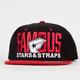 FAMOUS Stars & Straps Blockout Mens Snapback Hat