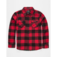 SHOUTHOUSE Cast Boys Flannel Shirt