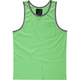 BLUE CROWN Contrast Trim Mens Pocket Tank