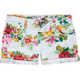 VANILLA STAR Floral Womens Denim Shorts