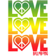 BILLABONG Love Me 5.5 Sticker