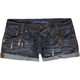 ALMOST FAMOUS Tab Front Pocket Womens Denim Shorts